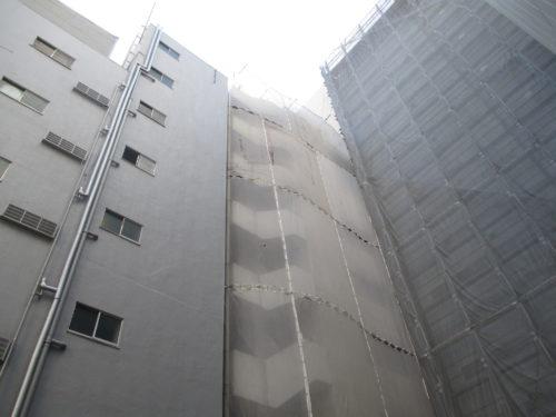 東京都内でリフォームをしたいけど足場が建てられない、建てたくない そんなお客様に